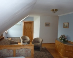 Wohnraum Appartement 7 - Villa Rose
