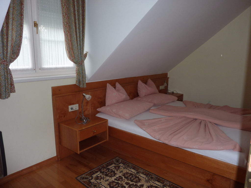 Schlafzimmer Appartement 7 - Villa Rose