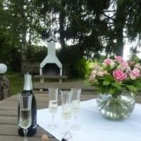 Sitzgarnitur - Appartements Villa Rose am Klopeiner See